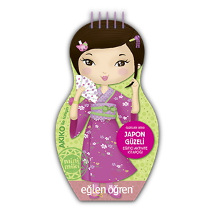 Eğlen Öğren Güzeller Serisi Japon Güzeli
