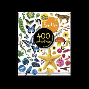 Eğlen Öğren Renkler Çıkartma Kitabı