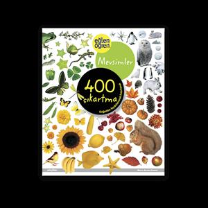Eğlen Öğren Mevsimler Çıkartma Kitabı