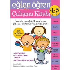 Eğlen Öğren 4-5 Yaş Çalışma Kitabı