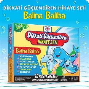 Adeda Yayıncılık Balina Baliba (10 Kitap) (6-9 Yaş)