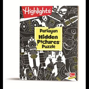 Parlayan Hidden Pictures Puzzle Dikkat Geliştirme Kitabı 8-99 Yaş