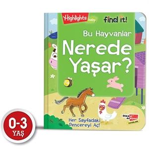 Baby Find It - Bu Hayvanlar Nerede Yaşar?