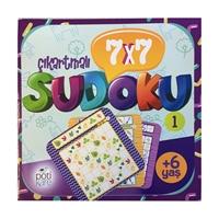 7X7 Çıkartmalı Sudoku - 1