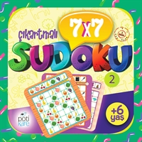 7X7 Çıkartmalı Sudoku - 2