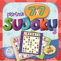 7X7 Çıkartmalı Sudoku - 3