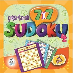 7X7 Çıkartmalı Sudoku - 4