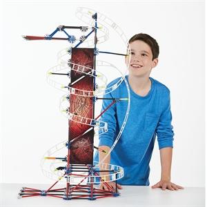 K'Nex Web Weaver Roller Coaster Set (Motorlu) Hız Treni