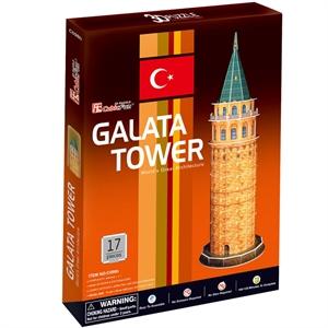 Cubic Fun 3D 17 Parça Puzzle Galata Kulesi