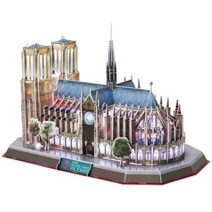 Cubic Fun 3D 149 Parça Led Puzzle Notre Dame Kilisesi - Fransa