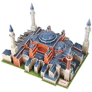 Cubic Fun 3D 225 Parça Puzzle Tarihi Ayasofya Camii