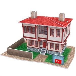 Cubic Fun 3D 26 Parça Puzzle Türk Halk Evi 1