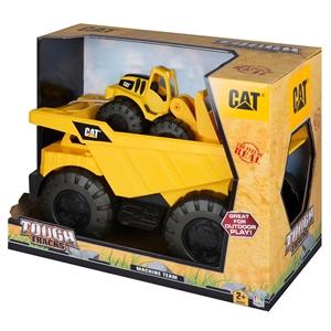 CAT Dump Truck İnşaat Araçlı Taşıyıcı Büyük Kamyon Model 1