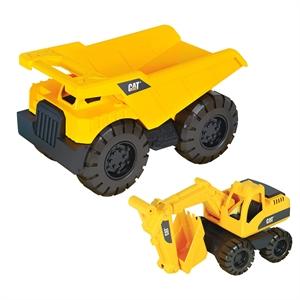 CAT Dump Truck İnşaat Araçlı Taşıyıcı Büyük Kamyon Model 2