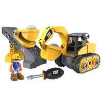 CAT Küçük Operatör Sök Tak İnşaat Seti Excavator İş Makinesi
