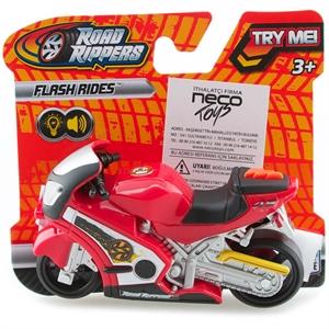 Road Rippers Sesli ve Işıklı Mini Motorsiklet Kırmızı