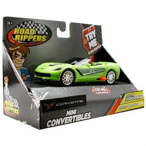 Road Rippers Açılır Tavan Sesli Işıklı Mini Araba Corvette