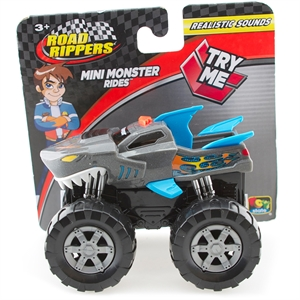 Road Rippers Mini Roadster Rides Sesli Arazi Aracı 10 cm Gri