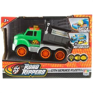 Road Rippers Sesli ve Işıklı Mini Hizmet Araçı Y. İş Kamyonu