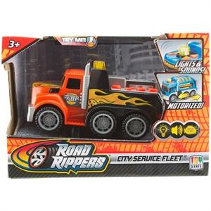 Road Rippers Sesli ve Işıklı Mini Hizmet Araçı T. Araç Kurtarıcı