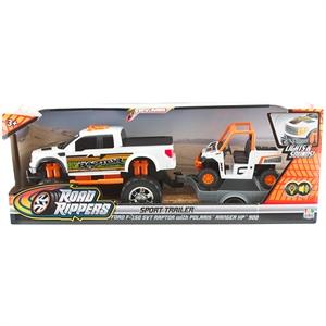 Road Rippers Sesli ve Işıklı Ford F-150 Svt Raptor ve Ranger XP Araç Seti
