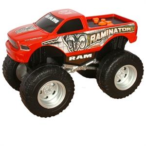 Road Rippers Şahlanan Sesli Kamyonet Dodge Ram Kırmızı