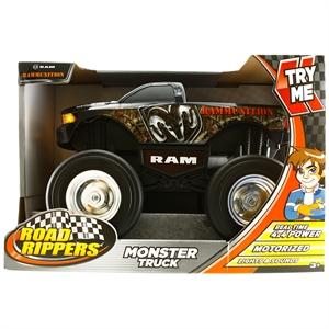 Road Rippers Monster Truck Rammuni Sesli ve Işıklı 4x4 Kamyonet