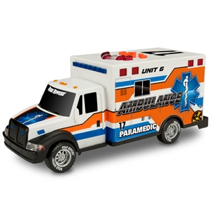 Road Rippers Rush Rescue Sesli ve Işıklı Ambulans Aracı