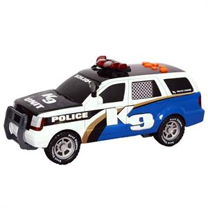 Road Rippers Rush Rescue Sesli ve Işıklı Polis Aracı K9