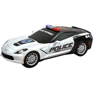 Road Rippers Protect Sesli Işıklı Polis Aracı Corvette