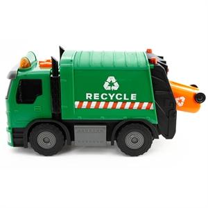 Road Rippers Hareketli Sesli ve Işıklı Şehir Servisi Çöp Arabası