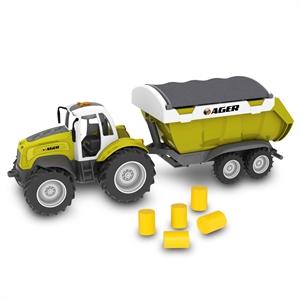 Road Rippers Çiftlik Araçları Römorklü Traktör Oyun Seti