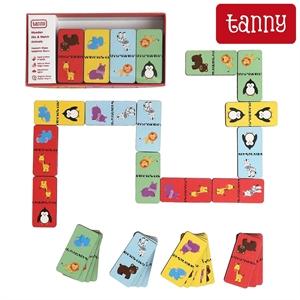 Tanny Ahşap Eşleştirme Oyunu - Domino