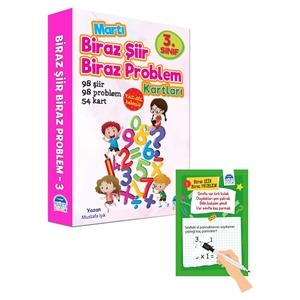Biraz Şiir Biraz Problem Kartları 3.Sınıf