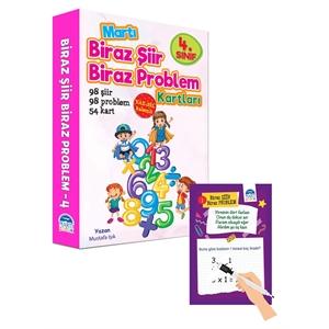 Biraz Şiir Biraz Problem Kartları 4.Sınıf