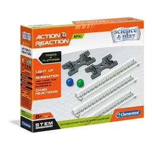 Clementoni Action and Reaction - Raylar ve Platformlar