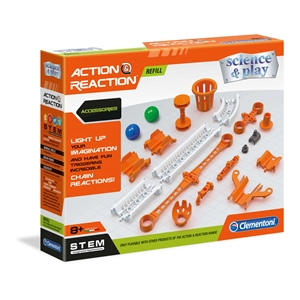 Clementoni Action and Reaction - Aksesuarlar