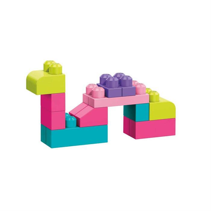 Mega Bloks 80'li Blok Torbası - Pembe