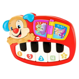 Fisher Price Eğlen ve Öğren Eğitici Köpekçiğin Piyanosu (Türkçe)