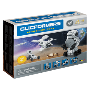 Clicformers Mini Space Set - 30 pcs