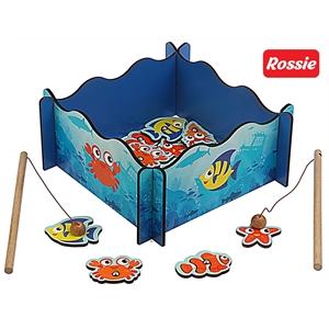Rossie Ahşap Mıknatıslı Balık Tutma Oyunu