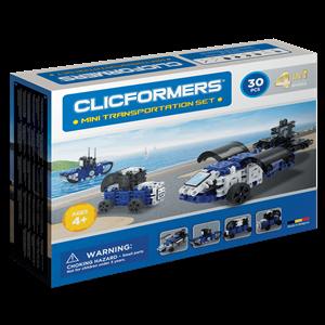 Clicformers Mini Transportation Set - 30 pcs