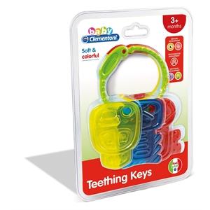 Clementoni Baby Renkli Anahtarlar Dişlik