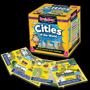 BrainBox Dünya Şehirleri (Cities of the World) (İngilizce)