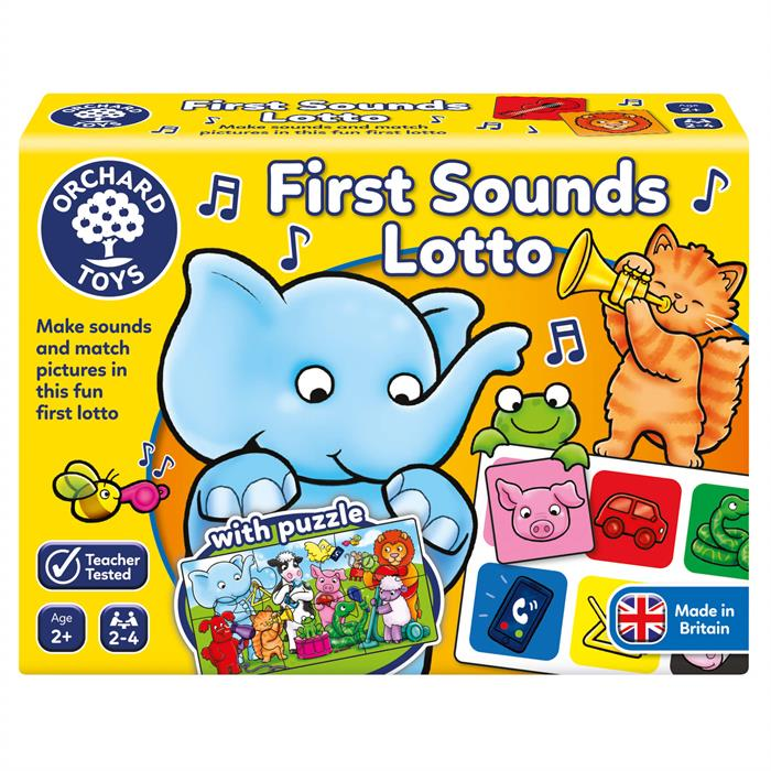 Orchard First Sounds Lotto and Puzzle