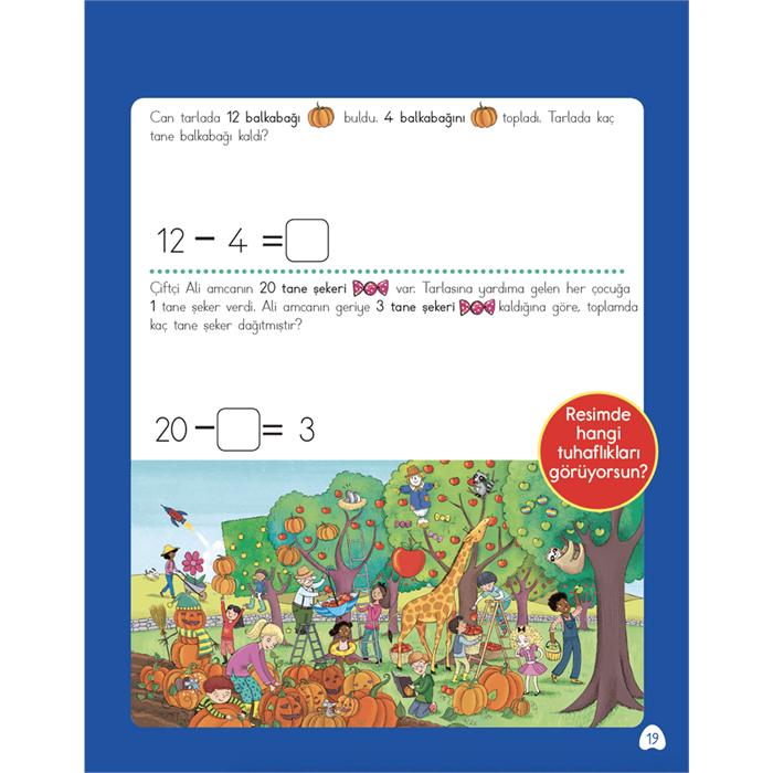 Highlights Zihinden Eğlenceli-Öğretici Çıkarma Etkinlikleri - 1.Sınıf