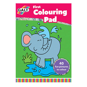 Galt First Colouring Pad (İlk Boyama Kitabı)