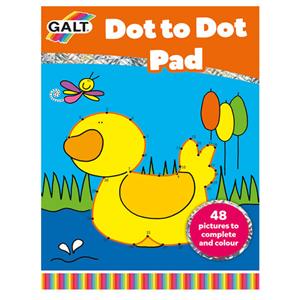Galt Dot to Dot Pad (Noktaları Birleştirme Boyama Kitabı)