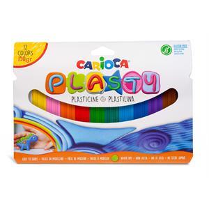 Carioca Plasty Kurumayan Oyun Hamuru 12 Renk - 150gr