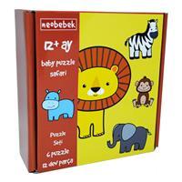 Neobebek Baby Puzzle - Safari